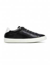 Leather Crown W_LC06_20106 sneakers nere in pelle