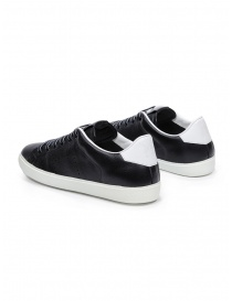 Leather Crown W_LC06_20106 black leather sneakers price