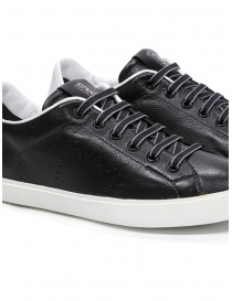 Leather Crown W_LC06_20106 black leather sneakers womens shoes price