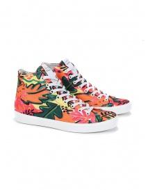 Leather Crown W117-622 Hawaiian high sneakers online