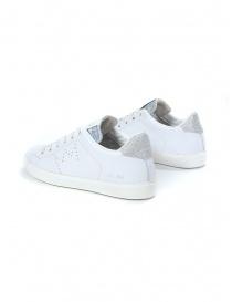 Leather Crown WLC06-613 sneakers bianche e argento prezzo