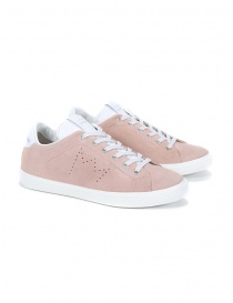 Leather Crown WLC06-691 sneaker in pink suede online