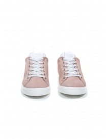 Leather Crown WLC06-691 sneaker in pink suede