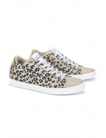 Leather Crown W_136_617 spotted sneakers online