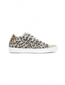 Leather Crown W_136_617 spotted sneakers
