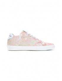 Leather Crown W136-612 pink gradient sneakers