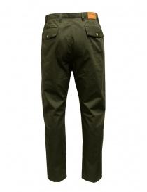 Camo Tyson pantaloni verdi con tasche militari frontali