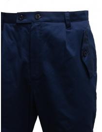 Camo pantaloni blu con tasche militari frontali pantaloni uomo acquista online