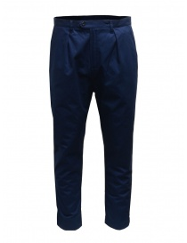 Mens trousers online: Camo Comanche blue trousers