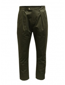 Mens trousers online: Camo Comanche green trousers