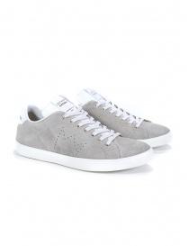Leather Crown MLC06-671 sneakers grigie scamosciate online