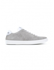 Leather Crown MLC06-671 sneakers grigie scamosciate