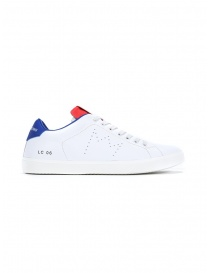 Leather Crown MLC06-604 white red blue sneakers