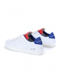Leather Crown MLC06-604 sneakers bianche rosse blu prezzo