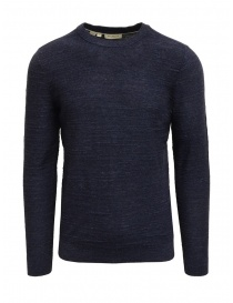 Mens knitwear online: Selected Homme dark sapphire blue pullover