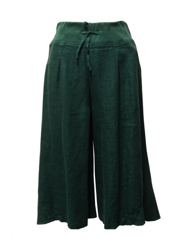 Kapital dark green trousers K1606LP294 GREEN womens trousers online shopping