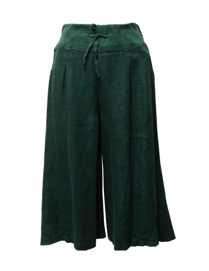 Pantalone Kapital colore verde scuro K1606LP294 GREEN pantaloni donna online shopping