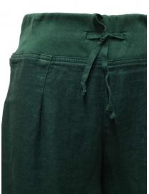Pantalone Kapital colore verde scuro prezzo