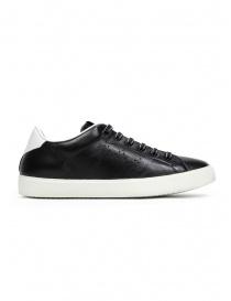 Leather Crown M_LC06_20106 sneakers nere in pelle prezzo