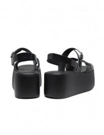 Melissa + Vivienne Westwood black wedge sandals price