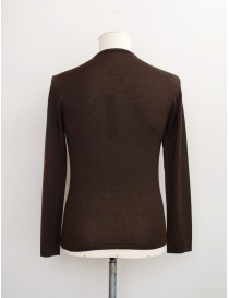 Adriano Ragni brown V-neck pullover buy online