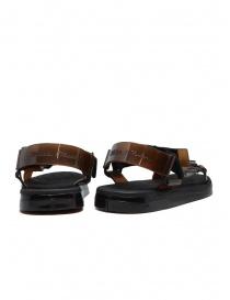 Melissa + Rider black and brown PVC sandals price