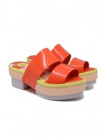 Melissa Geometric Rupture + Carla Colares orange sandal online