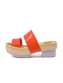 Melissa Geometric Rupture + Carla Colares orange sandal