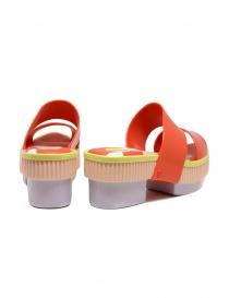 Melissa Geometric Rupture + Carla Colares sandalo arancione prezzo