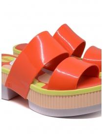 Melissa Geometric Rupture + Carla Colares orange sandal womens shoes buy online