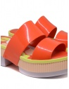 Melissa Geometric Rupture + Carla Colares sandalo arancione 32876 54019 RED RUPTUR acquista online