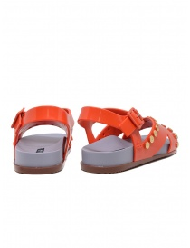 Melissa + Vivienne Westwood Ciao orange sandals with studs price