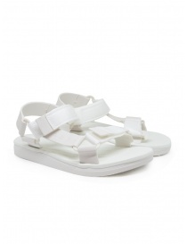 Womens shoes online: Melissa + Rider white PVC sandals