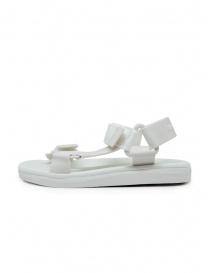 Melissa + Rider sandali in PVC bianchi