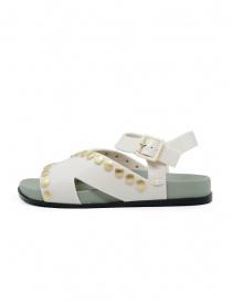 Melissa + Vivienne Westwood Ciao sandali bianchi con borchie