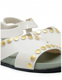 Melissa + Vivienne Westwood Ciao white sandals with studs womens shoes buy online
