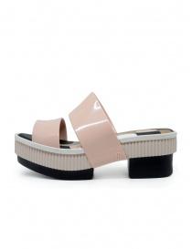 Melissa Geometric Rupture + Carla Colares sandali rosa e neri