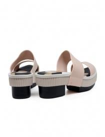 Melissa Geometric Rupture + Carla Colares pink and black sandals price