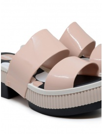 Melissa Geometric Rupture + Carla Colares pink and black sandals womens shoes buy online