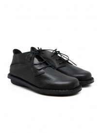 Womens shoes online: Trippen Escape lace-up shoes in black leather