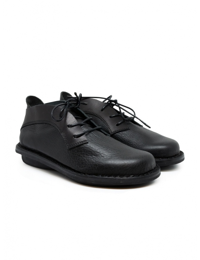 Trippen Escape lace-up shoes in black leather ESCAPE F ALB WAW BLACK womens shoes online shopping