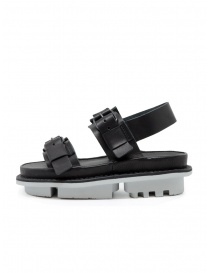 Trippen Back sandals in black leather
