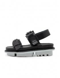 Trippen sandali Back neri in pelle