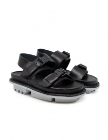Womens shoes online: Trippen Back sandals in black leather