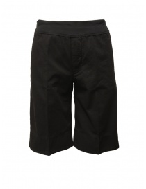 European Culture black bermuda pants 05EU 3400 1600 BLK order online