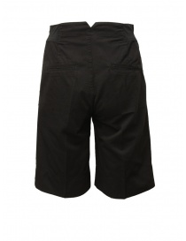 European Culture black bermuda pants