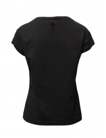 European Culture black cotton t-shirt