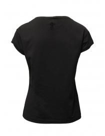 European Culture t-shirt nera in cotone
