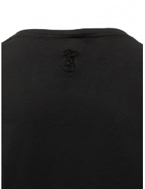 European Culture black cotton t-shirt price