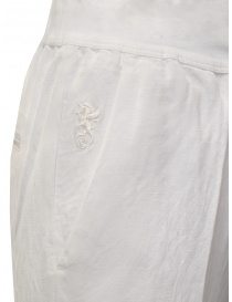 European Culture wide white linen and cotton pants price